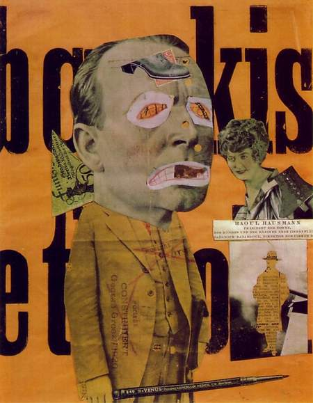 Raoul Hausmann, Le Critique d'art, 1920